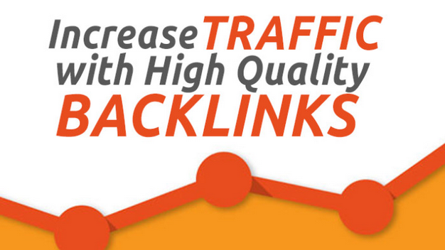 Increase traffic with high quality backlinks
